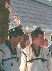 Men's hats in Oaș