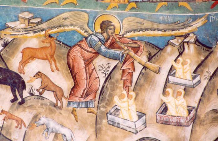 15th century painting of Bucium