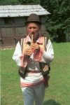 Fluier player from Dolj county, Oltenia