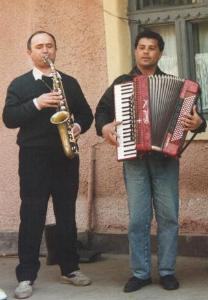 Sax and accordion – Alba region