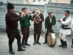 Retiș village band, Transylvania