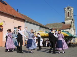 German dancers at a Saint's Day